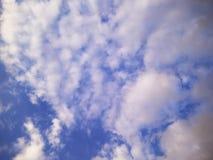 Nubes y cielo Foto de archivo