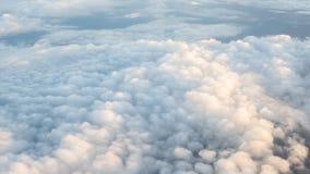 Nubes y cielo de la belleza en naturaleza Foto de archivo