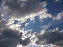 Nubes y luz del sol Imagen de archivo