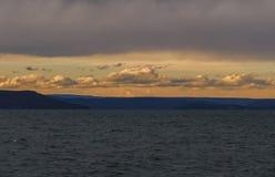 Nubes y mar fotos de archivo libres de regalías