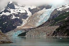 Nubes y océano de hielo imagen de archivo libre de regalías