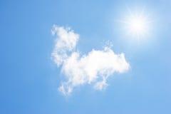 Nubes y sol Imagen de archivo libre de regalías