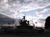 Nubes y sombras Fotografía de archivo