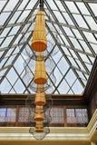 Nubes y tragaluz de las cortinas de lámpara Fotografía de archivo libre de regalías