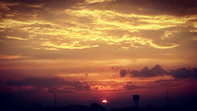 Nubi Fotografie Stock