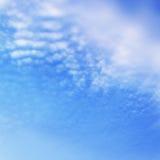 Nubi ad alba fotografie stock