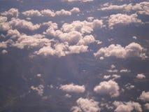 Nubi bianche Fotografia Stock Libera da Diritti