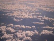Nubi bianche Fotografie Stock