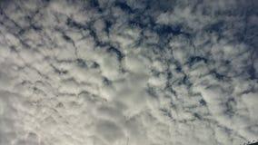 Nubi bianche Immagini Stock Libere da Diritti