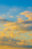 Nubi bianche nel cielo Immagine Stock Libera da Diritti