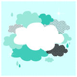 Nubi blu Immagine Stock Libera da Diritti