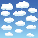 Nubi in cielo Fotografia Stock Libera da Diritti