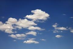 Nubi in cielo. Immagine Stock Libera da Diritti