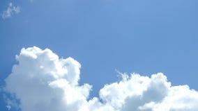 Nubi in cielo blu Immagini Stock Libere da Diritti