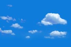 Nubi in cielo blu Immagini Stock