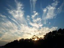 Nubi del cielo Fotografia Stock Libera da Diritti