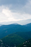 Nubi della montagna Fotografia Stock Libera da Diritti