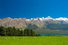 Nubi 2 della montagna Immagine Stock Libera da Diritti