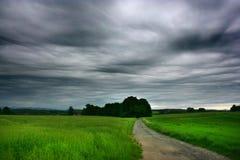 Nubi di Asperatus Fotografie Stock Libere da Diritti