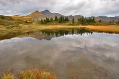 Nubi di autunno Fotografie Stock Libere da Diritti