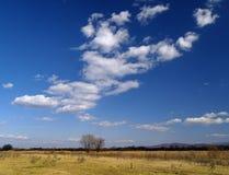 Nubi di autunno Fotografia Stock Libera da Diritti