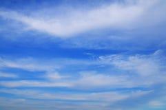 Nubi di cirro Fotografia Stock