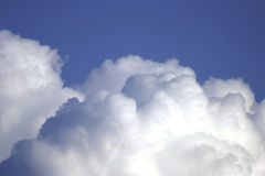 Nubi di cumulo 602691 Immagine Stock