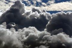 Nubi di pioggia Fotografia Stock Libera da Diritti