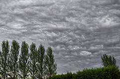 Nubi di Stratocumulus fotografia stock