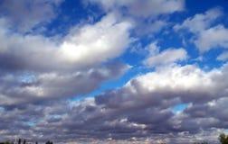 Nubi di tempesta Immagine Stock