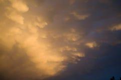 Nubi di tempesta 1 Fotografie Stock Libere da Diritti