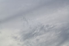 Nubi di tempesta grige Immagini Stock Libere da Diritti