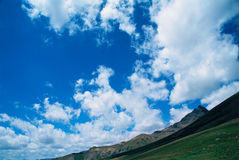 Nubi di Uncompahgre Fotografia Stock