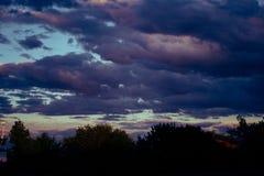 Nubi dopo la tempesta Fotografia Stock Libera da Diritti