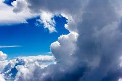 Nubi e cielo Fotografie Stock Libere da Diritti
