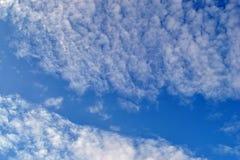 Nubi e cielo Fotografia Stock Libera da Diritti