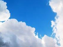 Nubi e cielo Fotografia Stock