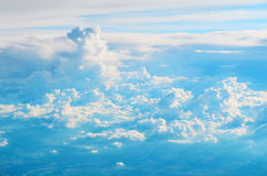 Nubi e cielo Immagini Stock Libere da Diritti