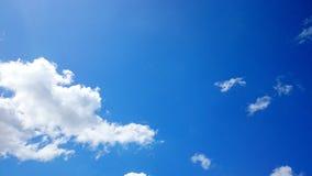 Nubi e cielo blu Fotografie Stock Libere da Diritti