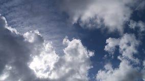Nubi e cielo blu Immagini Stock Libere da Diritti