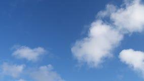 Nubi e cielo blu Fotografie Stock