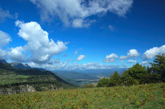 Nubi e natura Fotografia Stock