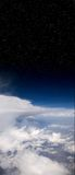 Nubi e spazio Immagine Stock Libera da Diritti