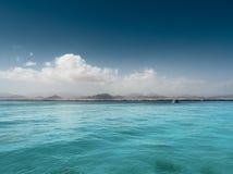 Nubi ed il mare. Immagini Stock Libere da Diritti