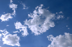 Nubi in Italia Immagine Stock Libera da Diritti