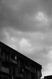 Nubi lunatiche Fotografie Stock Libere da Diritti