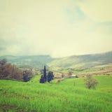 Nubi nel Apennines Fotografia Stock Libera da Diritti