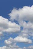 Nubi nel cielo Immagine Stock