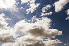 Nubi nel cielo Fotografie Stock Libere da Diritti