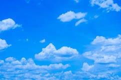 Nubi nel cielo Immagini Stock Libere da Diritti
